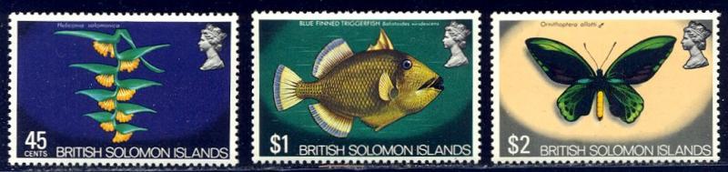 HALF-CAT BRITISH SALE: BRITISH SOLOMON #232-47 Mint NH