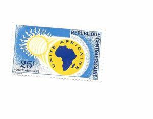 Central African Republic 1963 - M - Scott #C11 *