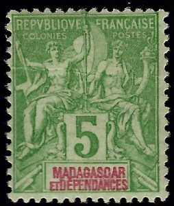 Malagasy/Madagascar (Scott #32) F-VF Mint...Get it before prices go up again!