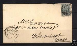 Canada #5b VF Used On Cover