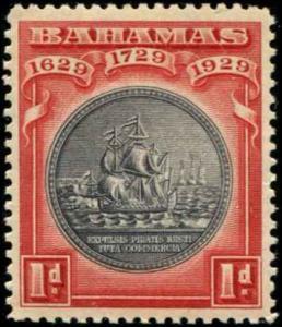 Bahamas SC# 85 SG# 126 Colony Seal 1d MNH