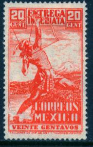 MEXICO E6, 20cts Special Delivery. MINT, NEVER HINGED. F-VF...
