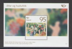 Iceland Sc 1070 2006 Norse Mythology stamp sheet mint NH