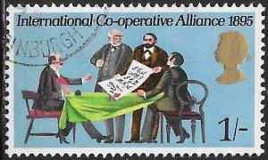 Great Britain 614 Used - International Cooperative Alliance, 75th Anniversary