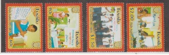 Tuvalu Scott #948-951 Stamps - Mint NH Set