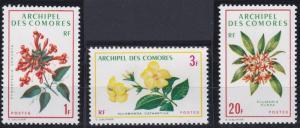 Comoro Islands 96-98 MNH (1971)