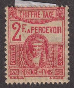 Tunisia J26 Postage Due 1945