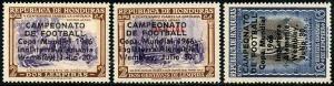 HERRICKSTAMP HONDURAS Sc.# C404-06 1966 Soccer Cup FIFA