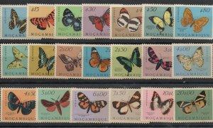 Mozambique 364-383 Set Mint Hinged