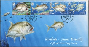 Kiribati. 2012. The Giant Trevally (Mint) First Day Cover