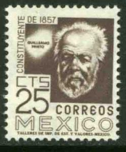 MEXICO 897A 25cents 1950 Definitive 2nd Printing wmk 300 MINT, NH. VF.