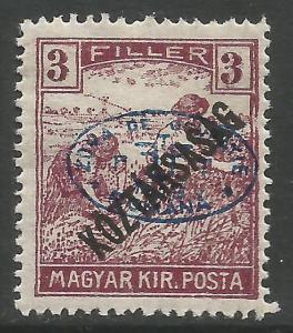 HUNGARY 2N34 MOG Q956-1