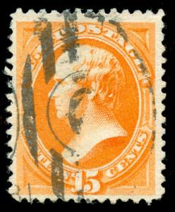 momen: US Stamps #152 Used Duplex Cancel VF