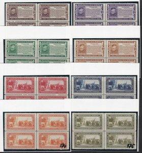 1932 San Marino, N° 168/175 8 Values Series the Rarest IN Quartina MNH