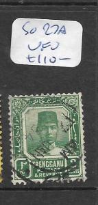 MALAYA TRENGGANU (P1201B) 2C  SG 27A SON CDS VFU