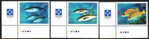 Micronesia. 1995. 427-29 from the series. fish. MNH.