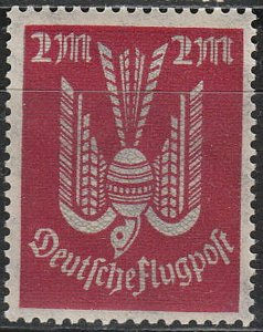 Stamp Germany Reich Mi 216 Sc C91922 Airmail Wood Pigeon Luftpost Bird MH