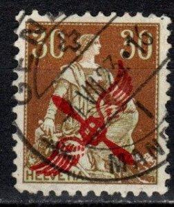 Switzerland #C1  F-VF Used  CV $1250.00   (X490)