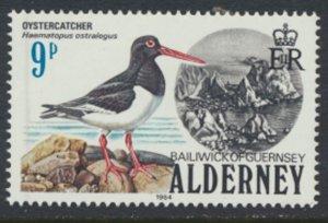 Alderney  SG A13  SC#  13   Birds MNH  see scan