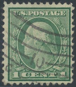 #544 1c 1922 PERF 11 VF USED GEM (APP) WITH PF CERT CV $4,500+ WLM6842
