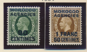 Great Britain, Offices In Morocco Stamp Scott #420, Mint Hinged - Free U.S. S...