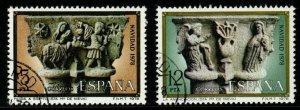 SPAIN SG2539/40 1978 CHRISTMAS FINE USED