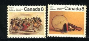 Can #574-75     Mint NH VF 1975 PD