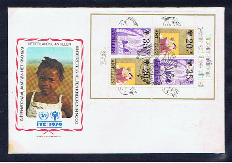 1979 YEAR OF THE CHILD M/SHEET FDC
