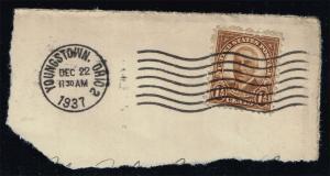 US #684 Warren G. Harding; Used (0.25)