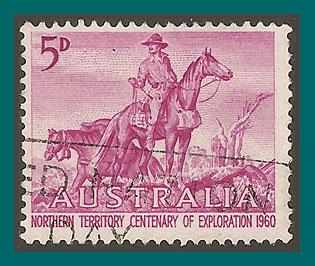 Australia 1960 Exploration of NT, used 336,SG335