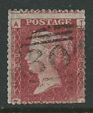 Great Britain - QV SG 43 plate 80