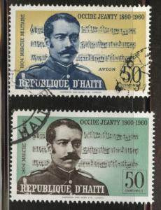Haiti  Scott 468, C166 Used music on stamps
