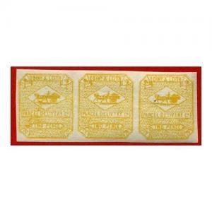 Circular Delivery SGCD18 Edinburgh and Leith 2d yellow mint horizontal triple