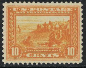 Scott 400- MNH, Nicely Centered Panama Pacific Expo, 10c San Francisco- mint