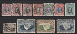 Southern Rhodesia small lot of KGV M or U