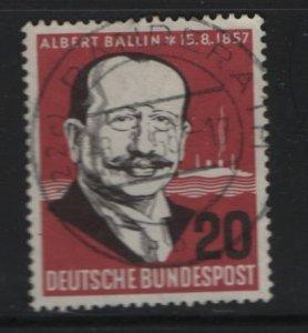 Germany 769 Used, 1957 Albert Ballin