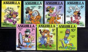 ANGUILA/ANGUILLA 1981 MNH SC.434/440 Easter,Disney