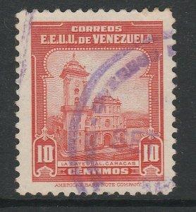 Venezuela 1943 10c used South America A4P53F31
