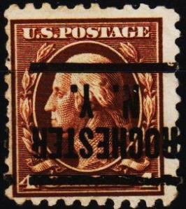 U.S.A. 1908 4c(Pre Cancel) S.G.510 Fine Used