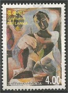 SRI LANKA, 1999, used 4r,  Justin Daraniyagala Scott 1271