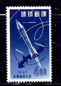 Ryukyu Is 41 MNH 1957 issue    (ap2324)