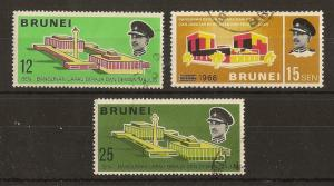 Brunei 1969 Council Chamber SG172-174 Fine Used