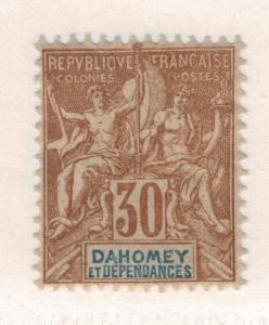 Dahomey Stamp Scott #10, Mint, Spotty Gum - Free U.S. Shipping, Free Worldwid...