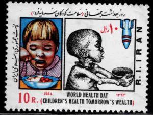 IRAN Scott 2154 MNH** 1984 World Health day