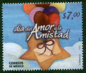 MEXICO 2670, ST. VALENTINE'S DAY. MINT, NH. F-VF.