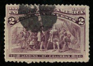 USA 1893 Columbian Exposition 2с (3247-Т)