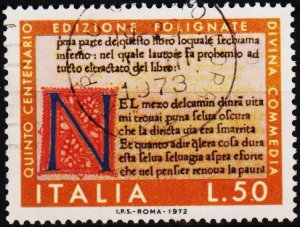 Italy. 1972 50L S.G.1326 Fine Used