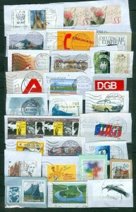 Germany BDR. Lot On Paper. Modern Issues.