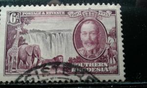 Southern Rhodesia #36 used e194.3927