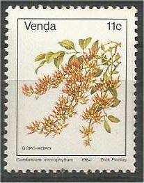 VENDA, 1979, MNH 11c, Flowers, Scott 15